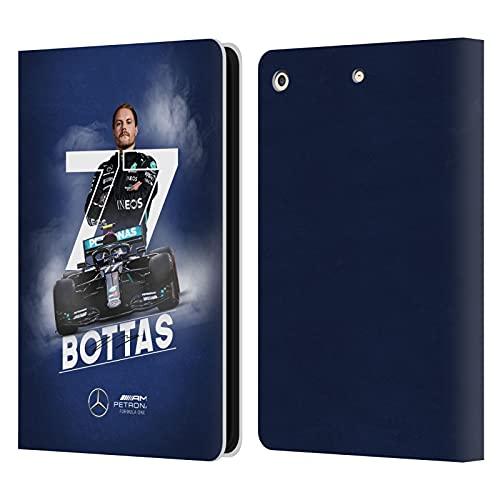Head Case Designs Funda de piel tipo cartera para iPad Air de 2013 de Mercedes-AMG Petronas F1 Team Car Graphics Valtteri Bottas