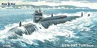 1/350 米・SSN-597タリビー実験攻撃原潜(MicroMirブランド) プラモデル