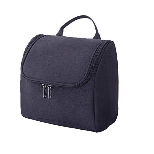 Waterproof Oxford Travel Organizer Bag Unisex Women Cosmetic Bag Hanging Makeup Bags Washing Toiletry Kits Storage Bags E 21*14*21cm