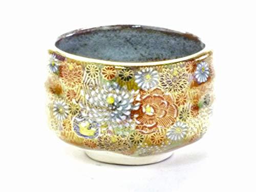 Learn More About Kutani Hyakkaen kutani(yaki) ware matcha bowl Green tea bowlkin hanazume princess...