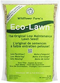 ECO-LAWN Grass Seed Blend Low Maintenance Lawn - 5lb Bag