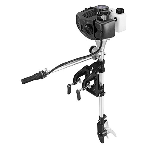 SEA DOG WATER SPORTS Outboard Motor 2.5 HP 2 Stroke Inflatable Fishing Boat Engine
