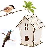 Bird House Bird House Creative Nido De PáJaro De Madera Montado En La Pared Al...
