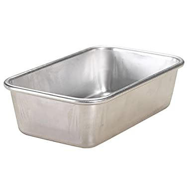 Nordic Ware Natural Aluminum Commercial Loaf Pan, 1.5 Pound
