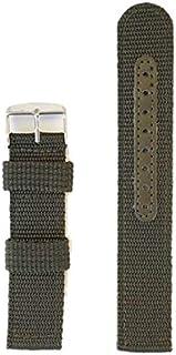(mind watch) NEW ミリタリー ベルト 幅 20㎜ 腕時計ベルト ナイロン 替えバンド 20mm (グリーン)