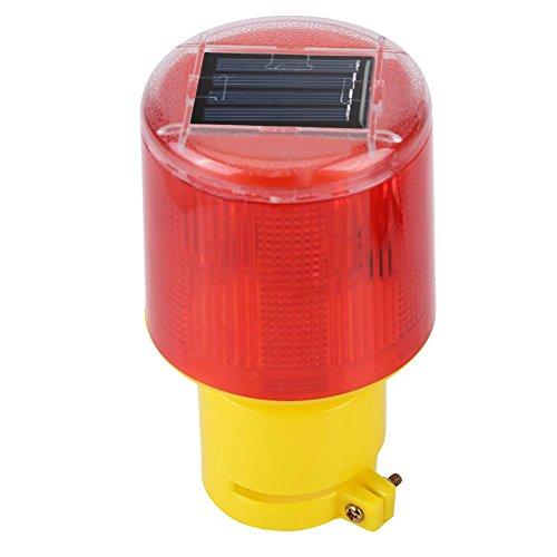 Waarschuwingslicht op zonne-energie stroboscooplicht LED noodverlichting waterdicht knipperlicht waarschuwingslicht rood licht voor auto vrachtwagen voertuig boot