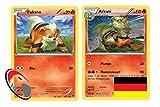 Fukano & Arkani Set 10/122 + 11/122 Pokémon Turbo Fieber Sammelkarte - Deutsch - Cardicuno