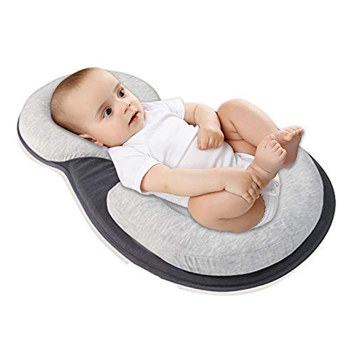 Baby Stereotypes Infant Anti Rollover Sleep Positioner Mattress Pillow for Baby Sleep Positioning