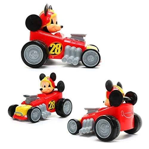 qinhuang Linda Figura De Mickey Mouse De Plástico Deslizante Mickey Juguete Modelo De Coche Juguetes Educativos, Niños