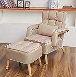 Sofá perezoso sofá individual sillón sillón red pequeño...