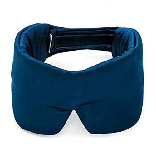 YYZKD Slaapmasker van zijde, draagbaar, om te ontspannen, dikke afdekking voor de ogen, om te slapen, oogschaduw