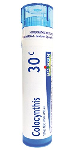 Boiron Colocynthis 30C, 80 Pellets, Homeopathic Medicine for Cramps