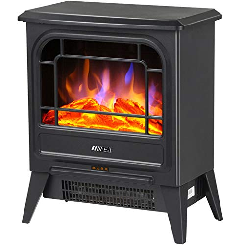 EA-Miao Flamme Ofen Heizung Hitze Flamme Kamin 900W / 1800W Kaminöfen elektrische freistehende Flamme Kamin für Haus und Büro