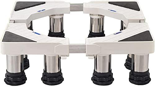 Base Lavadora Lavadora Pedesters & Marcos Soporte para refrigerador Soporte Altura ajustable 13-16cm Frigorífico Congelador Soporte Pedestal Longitud   Ancho 42-68cm Stent para el enfriador de vino Pa