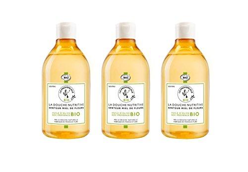 La Provençale La Douche Nutritive Senteur Miel de Fleurs 500 ml - Lot de 3