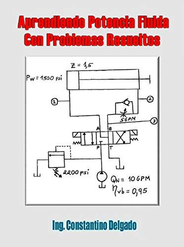 Aprendiendo Potencia Fluida Con Problemas Resueltos (Apuntes Ingeniería Mecánica nº 2)