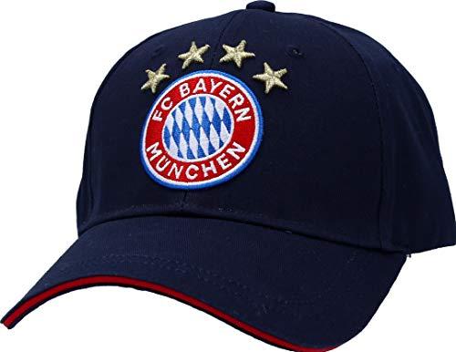FC Bayern München Baseballcap Kappe Logo navy