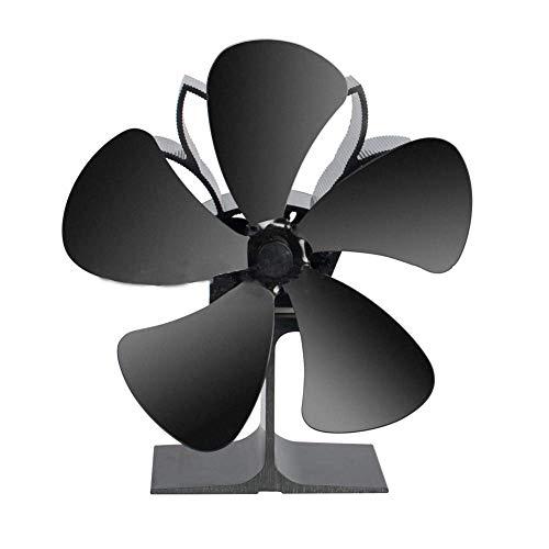 YANGSANJIN Soplador, Ventilador de la Estufa de Calor - No Requiere energía Respetuoso con el Medio Ambiente y eficiente - para Estufa de leña Estufa Chimenea de leña