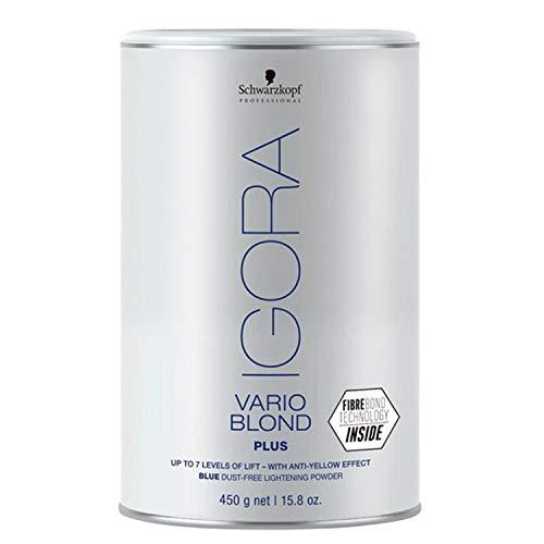 Schwarzkopf SCH204 Poudre Décolorante Igora Vario Blond Plus 450 g