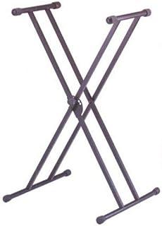 SOPORTE TECLADO - TCM (KSK129) Tipo X Doble (Tijera) Altura 68 cm