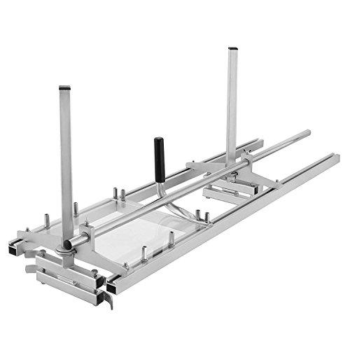 TOPQSC Molino de Motosierra Portable Chainsaw Mill Chain Sierra Mill De Aluminio...