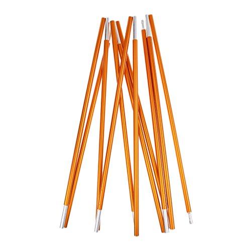 sharplace leicht Langlebig Aluminium Pole Camping Zelt Markise Rahmen Ersatz 355cm Φ8.5mm gelb