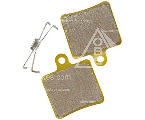 1 paire Hope Mini disques F1 fritté plaquettes de frein DB101 db105 Enduro 2 Pot MTB DH XC