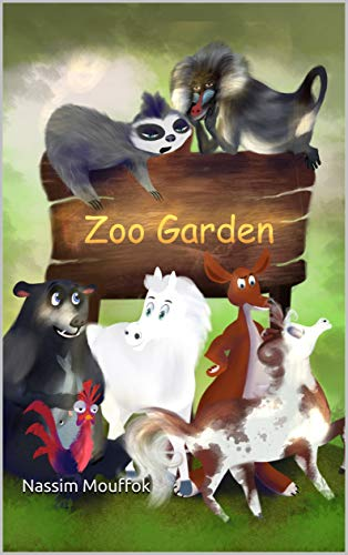 Zoo Garden: illustrated adventure about animals (English Edition)