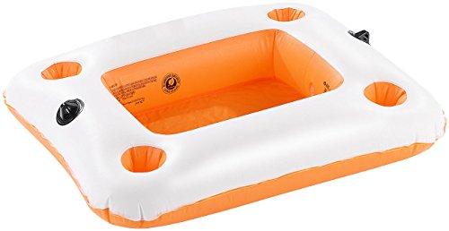 infactory Pool Getränkehalter: Schwimmender Getränkehalter, ideal für 2-Personen-Wassersofa (Getränkehalter Wasser)