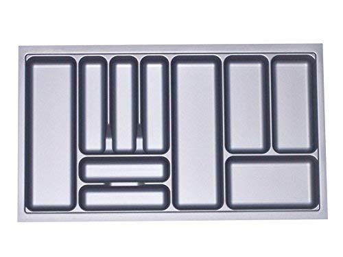 Besteckeinsatz Orga-Box I Besteckkasten 817 x 474 mm für Blum Tandembox + ModernBox im 90er Schrank