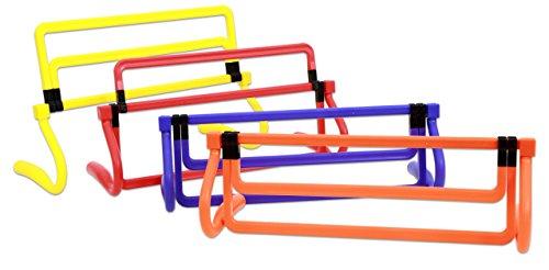 Betzold Sport 755685 - Kinder-Hürden-Set Agility Leichtathletik Trainings-Hürden