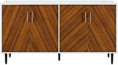 """Pemberly Row 32"""" Wide 2 Door Wardrobe Armoire Closet with 2 Drawers in Black…"""