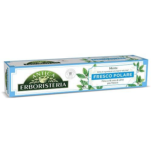 Antica Erboristeria, Dentifricio Fresco Polar per Alito Fresco con Ingredienti Naturali