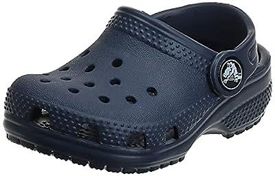 Crocs Unisex Men's and Women's Classic Clog, Navy, 4 US by Crocs