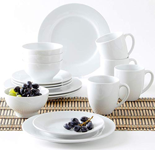 Kahla Pronto - Vajilla (16 Piezas), Color Blanco, Porcelana, Pronto weiß