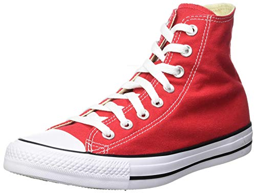 Converse Chuck Taylor All Star Hi, Zapatillas Altas Unisex adulto, Rojo (Red), 43 EU