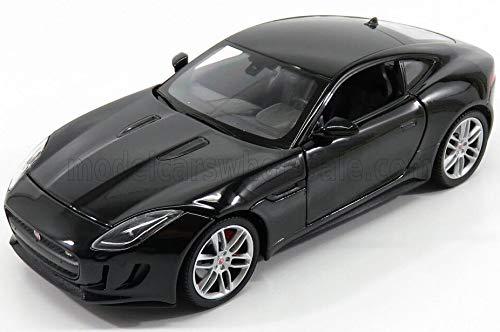 ウィリー 1/24 ジャガー F-TYPE Welly 1/24 Jaguar F-TYPE レース スポーツカー ダイキャストカー Diecast Model ミニカー (ブラック) [並行輸入品]