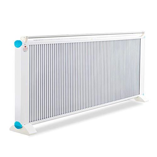 GYH chauffe-eau LJHA Radiateurs, Chauffage électrique 2500W Blanc en Fibre de Carbone, économe en énergie, Mural/Vertical