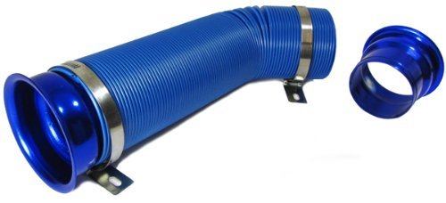 Carparts-Online 19185 Cold Air Performance Kit für Sport Luftfilter blau