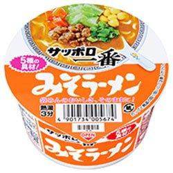 サッポロ一番 みそラーメン ミニどんぶり 47g×24個 (12個×2箱)