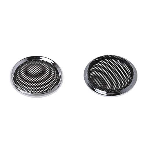 Ranuw 2 PCS Couverture De Haut-Parleur Tweeter Grill Mesh Grille De Protection Grilles Haut-parleurs Mini 1 Pouce DIY Accessoires