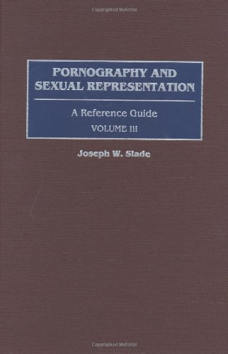Download Pornography and Sexual Representation: A Reference Guide (American Popular Culture) 0313315213