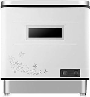 Liu Yu·casa creativa Mini lavavajillas portátil de sobremesa Compacto con lavavajillas, Interior de Acero Inoxidable, Adecuado para oficinas pequeñas y cocinas domésticas, con 6 estantes