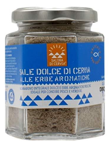 Sale Dolce di Cervia alle Erbe Aromatiche per Pesce e Verdure 175g