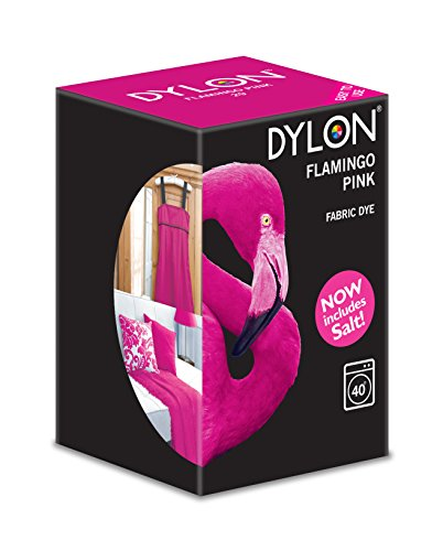 Dylon - Stoff Waschmaschinenfarben - Flamingo Rosa 350gr