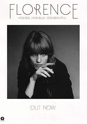 Generic Florence & The Machine How Big,How Blue,How Beautiful Foto Poster CD 09 (A5-A4-A3) - A3