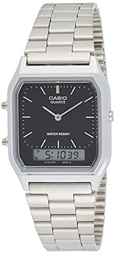 Relógio Masculino Anadigi Casio AQ-230A-1DMQ - Prata