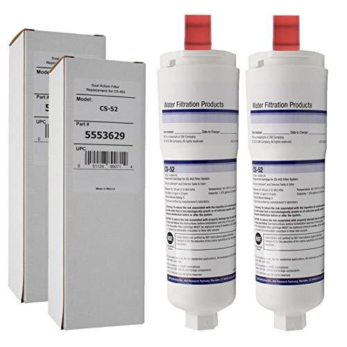 SPARES2GO 5586605 5586606 Type Waterfilters voor Siemens Koelkast Vriezer (Pack van 2) Fitment List C