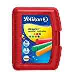 Pelikan 2056080 198/9R Modelliermassen Kinderknete Creaplast, 300g, rot