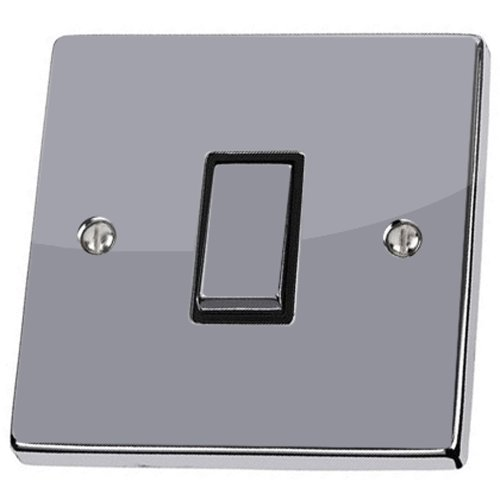 Pack of 2 Plain Silver Light Switch Sticker vinyl skin cover decal, Home decorative accessories by stika.co